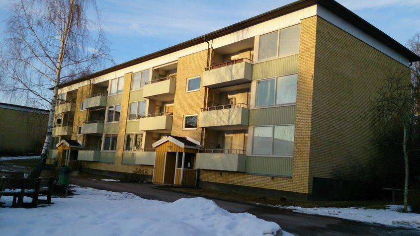 Renovering av flerbostadshus i Linköping