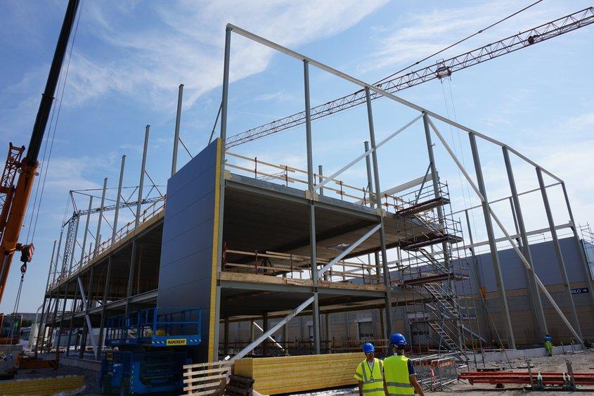 Om- och tillbyggnad av industrihus i Norrköping