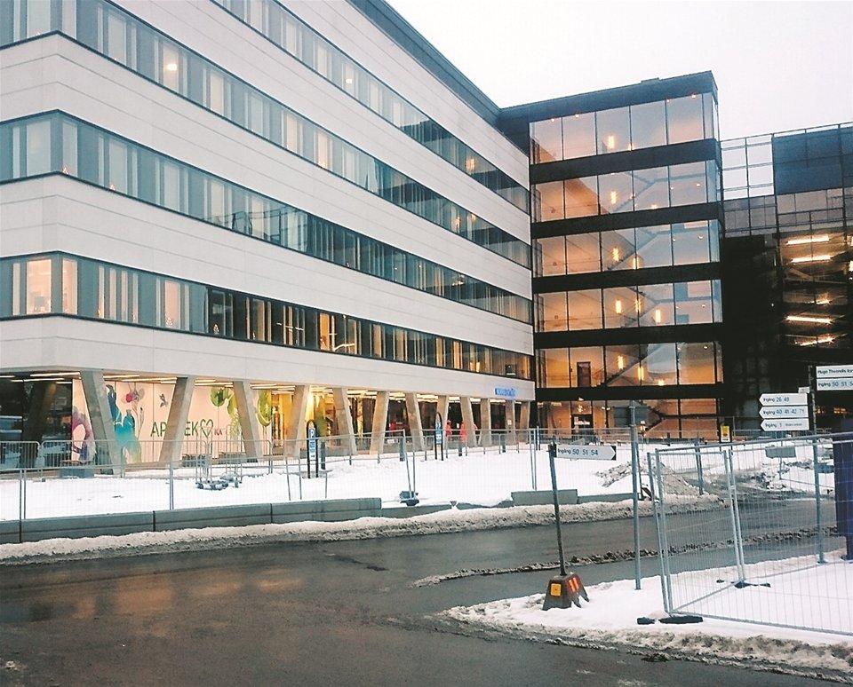 Ombyggnad av Universitetssjukhuset i Linköping